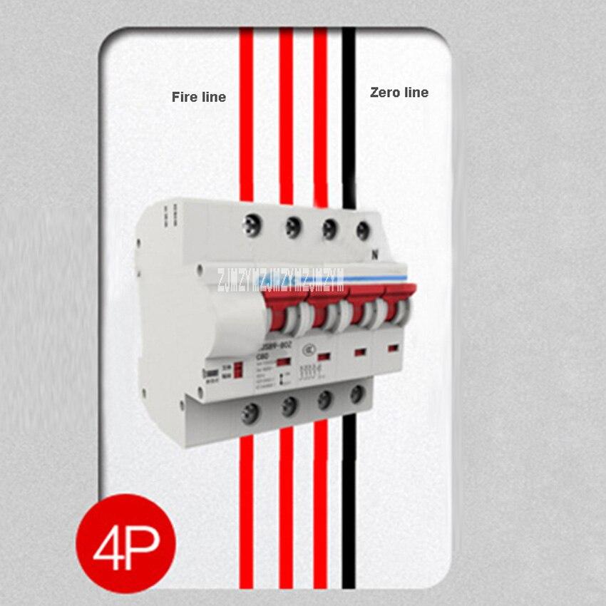 Nouvelle Smart Home Sans Fil Télécommande Commutateur de Synchronisation Automatique Serrure Intelligente Refermeture WIFI Circuit Disjoncteur 4 p 16A-125A 400 v