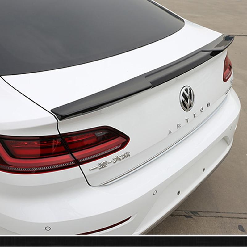 For Volkswagen VW Passat CC 2009-2016 Unpainted Color PU Rear Trunk Spoiler Wing