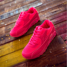 2016 Spring & autumn woman casual shoes fashion breathable female flat heel casual girl shoes network plus size