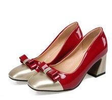 Sexy High Heel Sandalen Karree Bogen OL Party Hochzeit Schuhe echtes Leder Hochhackige Schuhe Frau Nude Pumps Big größe 34-43