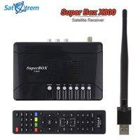 SuperBOX-X800 satxtrem كاملة hd 1080 وعاء dvb s/s2 عالية الوضوح الرقمية الفضائية dvb/s2 مستقبلات مع usb wifi الهوائي