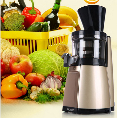 2015 new arrival Slow squeezing technology HU 19SGM 43RPM Fruit Vegetable Citrus Juice Extractor 100 Original