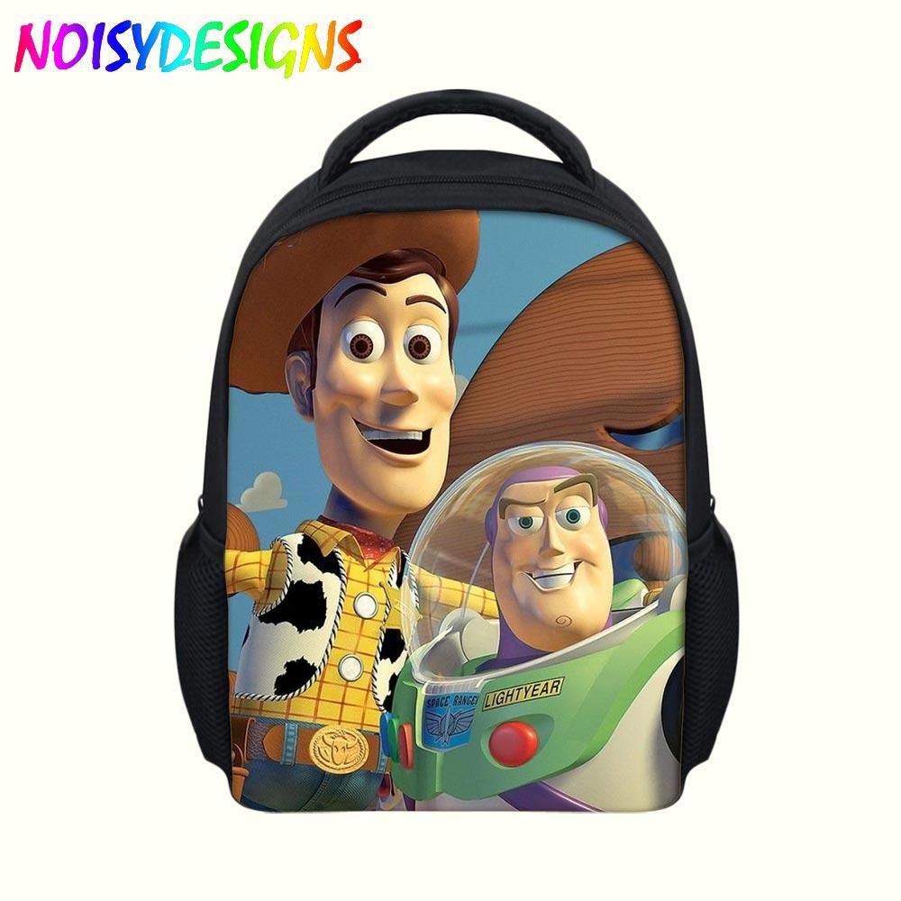 12-inch Childlike Toy Story School Bag Cute Buzz Lightyear Backpacks Toy  Story Book Bags 4b286ab17ec57