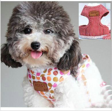 Chest Back Type Pet Harness Collar,Dog Harness Leashes,Four colors Cute Collar