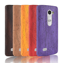 For LG Leon C40 C50 H340N H324 H320 Case Hard PC+PU Leather Retro wood grain Phone Case For LG Leon Cover Luxury Wood Case 4.5'' цена
