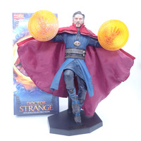 30cm Crazy Toys Marvel Avengers Doctor Strange Statue PVC Action Figure Collectible Kids Toys Gifts