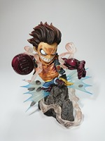 One Piece Luffy Figure Gear Fourth Monkey D Luffy Sence PVC Action Figure Collection Model Toy