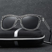 Alloy Cool Men Retro Grey Frame Polarized Sunglasses Custom Made Myopia Minus Prescription Lens -1 To-6