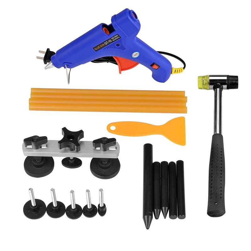 PDR Tool kits Paintless Dent Repair Tap Down Glue Gun Sticks Shovel Hammer Hail Removal Tools Set Hot Sale Auto Car Accessories
