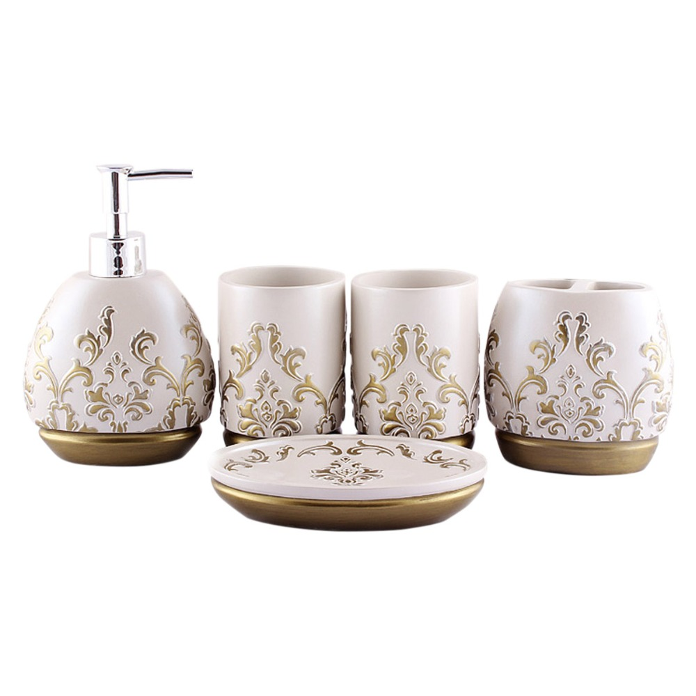 Resin Bathroom Accessories Compare Prices On Set Bathroom Accessories Online Shopping Buy