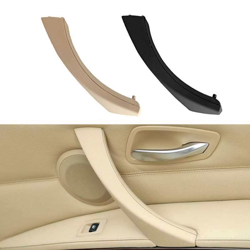 Car Inner Door Handle Pull Trim Cover Car Tuning For BMW 3 Series E90 E91 316 318 320 325 328 Internal Decoration Accessories