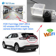 YESSUN car Reverse wireless reverse camera hd night vision for Ford Edge 2015 2016 for Ford Mondeo 2013~2015 reversing HD camera накладка на люк бензобака для ford edge 2013 2015