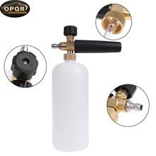 High Pressure Snow Foam Lance Adjustable Nozzle Professional Generator Car Washer Bottle Sprayer