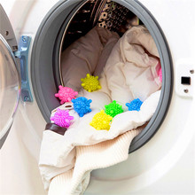 Yooap 6-PCS Eco Friendly Wash Laundry Ball Decontamination Anti-Winding Softener Wrinkle Releasing Solid Reusable Dryer Balls