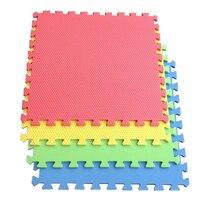 10 Pieces Solid Soft EVA Foam Mat Baby Crawling Mat Educational Play Pads Floor Sport Tatami