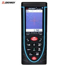 SNDWAY SW-Q200 Handheld Digital Laser-distanzmessgerät Entfernungsmesser 200 Mt Entfernungsmesser Band Mit wasserwaage