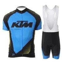Nuova Estate KTM Traspirante Roupa maglia Ciclismo maglia Abbigliamento Ciclismo/Mountain Biciclette GEL Pad Bici Da Corsa Traspirante Uomini B412
