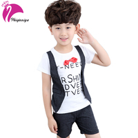 2PCS Suit Baby Boy Clothes Children Summer Toddler Boys Clothing Set 2018 New Kids Fashion Cotton
