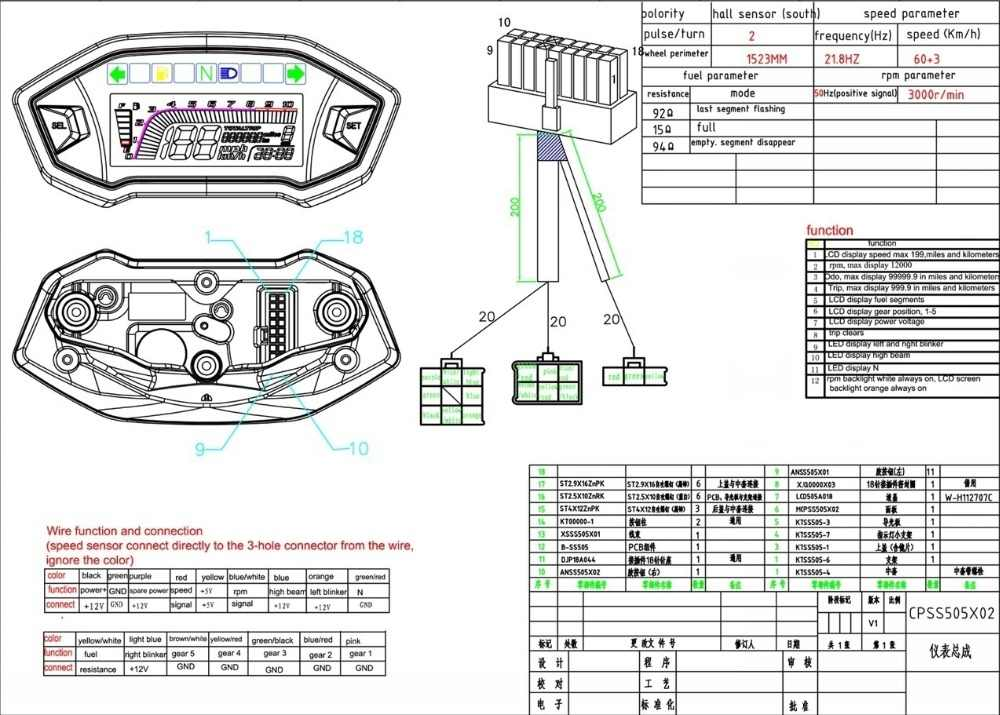 Universal Tachometer Wiring Diagram - Wiring Diagrams on