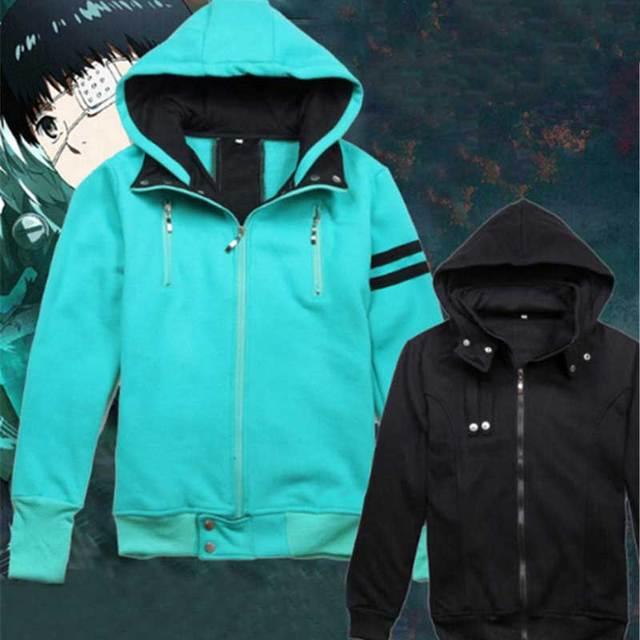 Tokyo Ghoul Kaneki Ken Hoodie Cotton Jacket