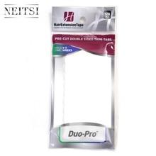 Neitsi 120タブレースフロント/デュオ pro/ウルトラホールドプレカットダブル両面テープ米国ウォーカー内のテープのための毛延長