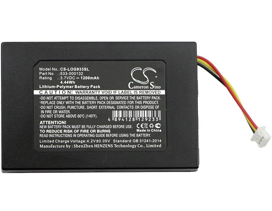 Batería De 1200 Mah 533-000132 Para Logitech G533, G933