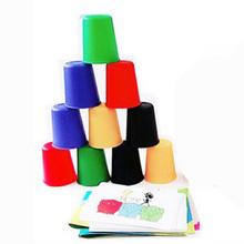 2 graczy 4 graczy szybkie kubki gra planszowa zabawna gra na impreza rodzina gra wyślij instrukcje w języku angielskim z darmowa wysyłka tanie tanio KP566