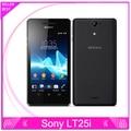 """Original Sony Xperia V LT25i teléfono Celular 4.3 """"Táctil Android Smartphone 8 GB de Almacenamiento de 3G WIFI GPS NFC 13MP Cámara Del Teléfono FreeShipping"""