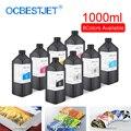 1000 мл/бутылка Светодиодный УФ-чернила для Epson DX4 DX5 DX6 DX7 DX10 печатающая головка для R1800 R1900 4800 4880 7880 УФ-принтер (8 цветов на выбор)