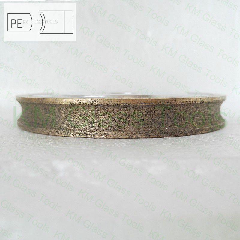 送料無料! キロ 100x22xPE3/4/5/6/8/10/12/15/19 ミリメートル鉛筆エッジペリフェラルダイアモンドホイール、ガラス研削盤。  グループ上の ツール からの 砥石 の中 3