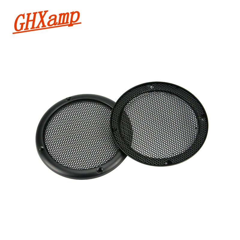 1pcs 21# 1//2//3//4//5//6.5//8//10 inch Black Speaker grill car horn decorative circle