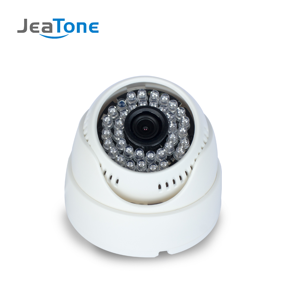 JeaTone 720P/960P/1080P AHD Security Dome Camera Video Surveillance Indoor CMOS Camera White Color 15M IR Night Vision cmos color surveillance security camera with 6 ir led night vision pal 6v 9v dc