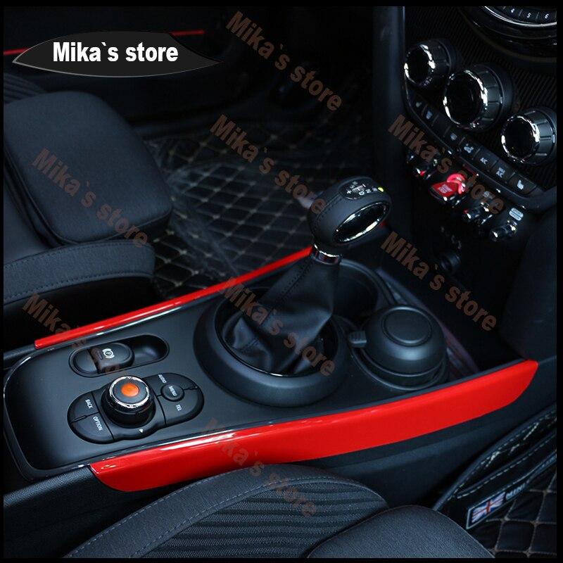 ABS para BMW Mini Cooper F54 F60 Clubmen Compatriotas Engrenagem Painel de Decoração Painel de Decoração de Cobre Estilo Do Carro caixa de Velocidades Automática