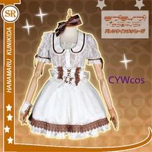 802604911 Personalizado amor vivo sol Cosplay Kunikida Hanamaru AZALEA concierto  Cosplay disfraz mujer vestido Halloween uniformes disfraz