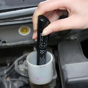 Image 2 - Hamulec samochodowy Tester płynów samochodowe narzędzia diagnostyczne 5 diod led testowanie płynu hamulcowego dokładny olej jakość sprawdź pióro dla DOT3/DOT4 PRY Tool