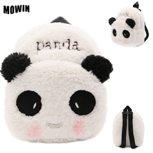 Soft Panda Sweet Rabbit Ears Preppy Mochila Toddler Kindergarten Picnic Bag Cute Animals Stuffed Plush Bag