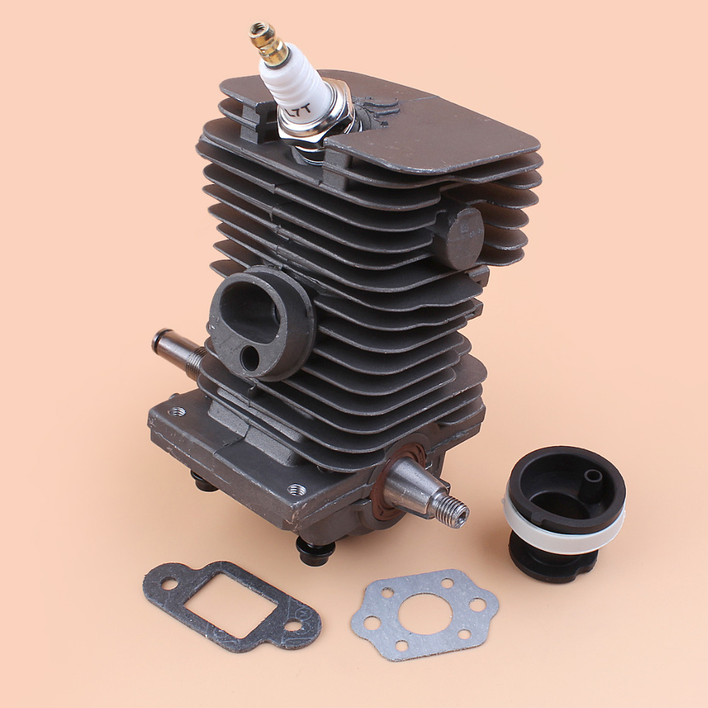 Купить с кэшбэком Complete Engine Motor Cylinder Crankshaft Pan Assembly For STIHL MS180 MS170 018 MS 180 170 Gasoline Chainsaw Parts