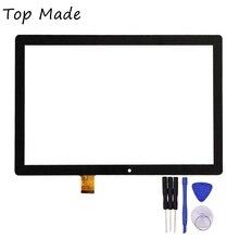 10.1 Pulgadas de Pantalla Táctil para ZJ-10039A Tablet Touch Panel Digitalizador Del Sensor de Cristal de Reemplazo Envío Gratis