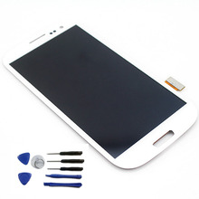 Original LCD Digitizer Display Touch Screen Assembly for Samsung Galaxy S3 i9300, White color Free shipping for alcatel one touch idol 2 mini 6016 ot6016 lcd display touch digitizer assembly frame white by free shipping