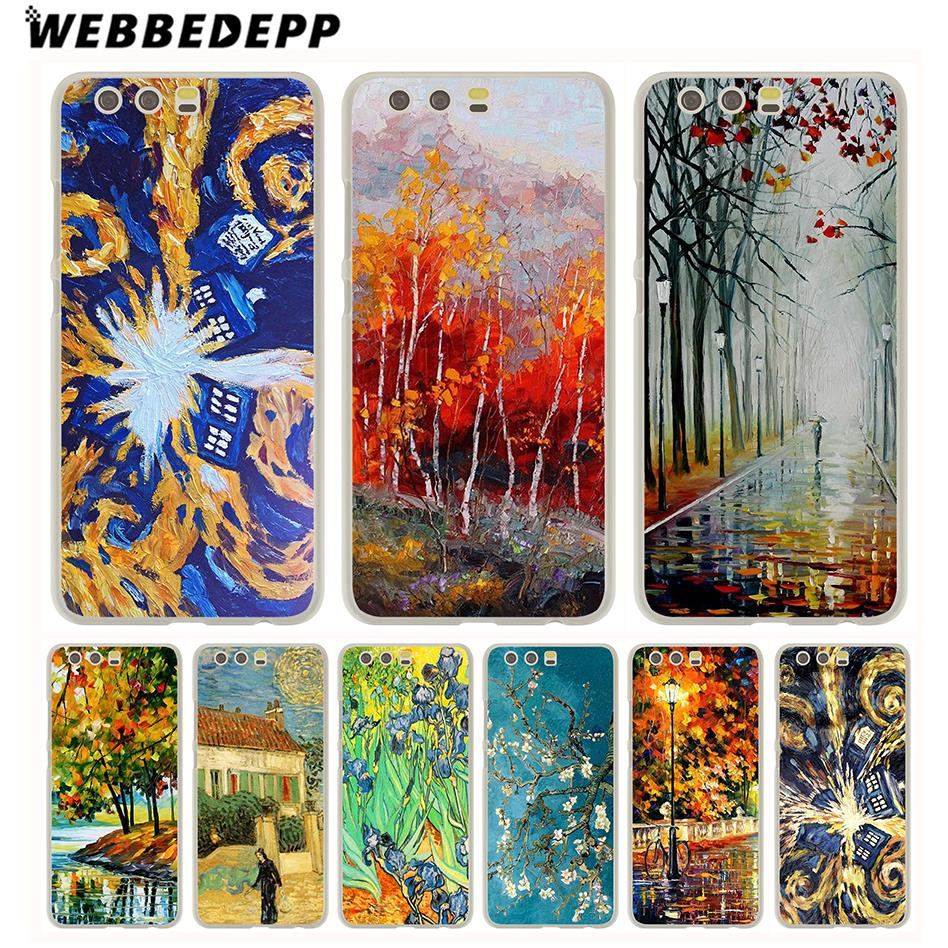 Webbedepp Selling Doctor Who Van Gogh Tardis Case For Huawei P20 Pro P Smart 2019 Y7 Y9 2019 P10 P9 Lite 2016 P8 Lite 2015/2017 Cellphones & Telecommunications