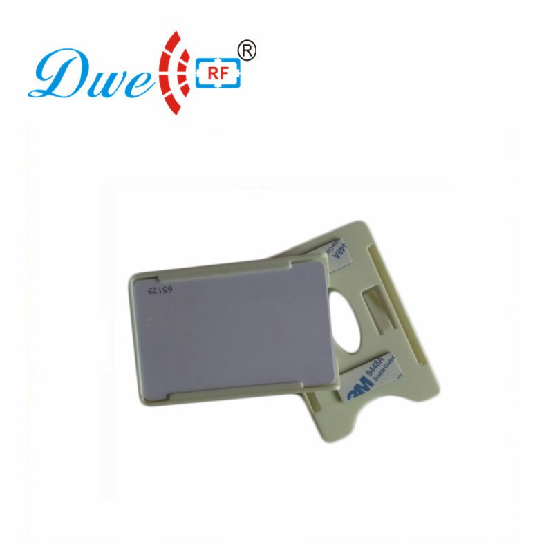 DWE CC RF Access Control Cards UHF RFID Card Holder ID/IC Card Holder For Car Windowshield  H001