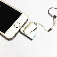 Usbแฟลชไดรฟ์32กิกะไบต์64กิกะไบต์มินิUsbติดปากกาดิสก์ไดรฟ์8กิกะไบต์16กิกะไบต์OtgสำหรับiPhone 7 7พลัส6 6วิ...