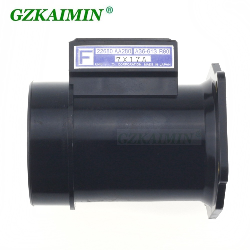 High Quality Mass Air Flow Meter Sensor 22680 AA280 22680AA280 A36 613 R80 fit For Subaru