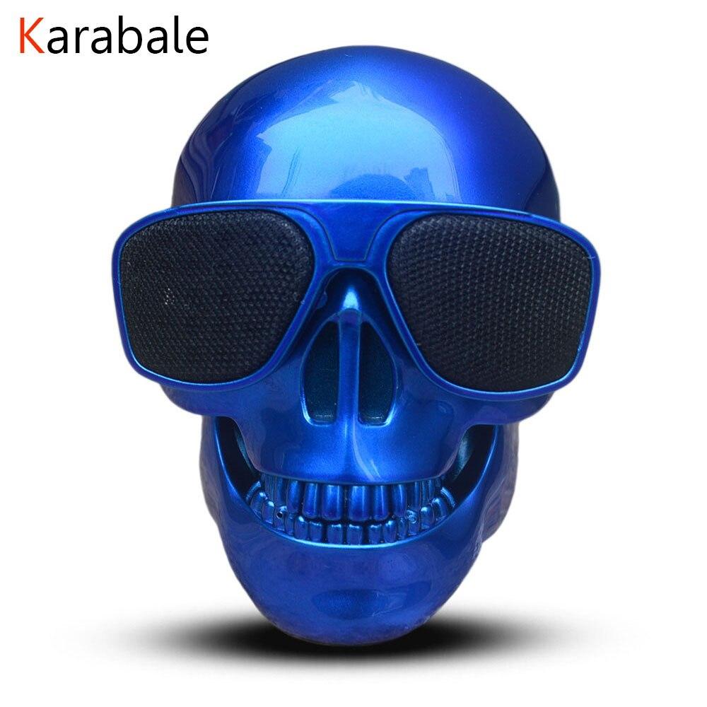 Skull Speaker Subwoofer Mini Portable Wireless NEW Bluetooth Multipurpose Mobile