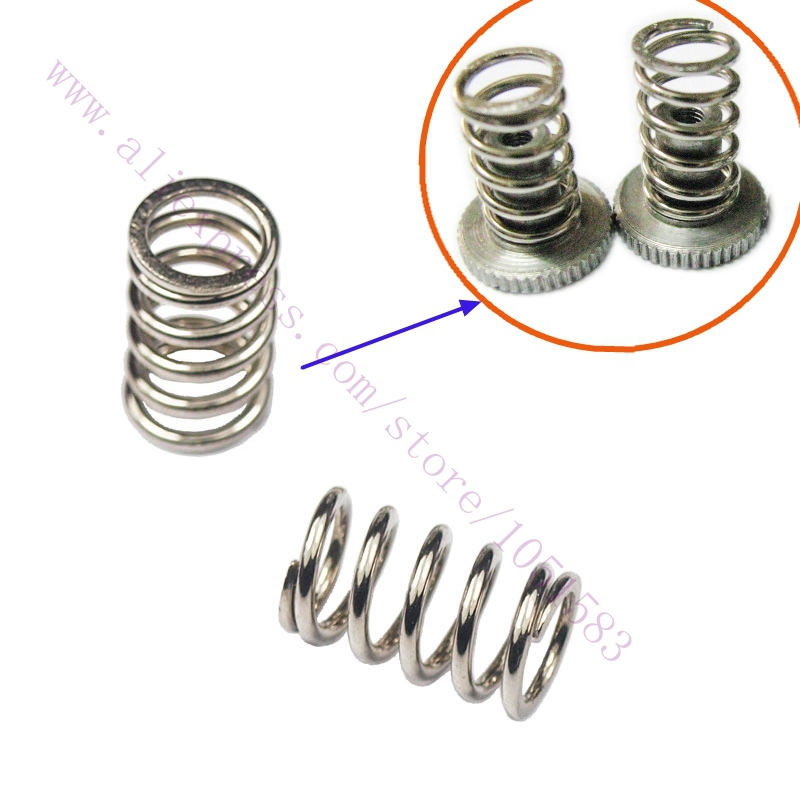 3d Printers & 3d Scanners 10pcs 3d Printer Ultimaker 2 Table Spring Printing Platform Spring Hot Bed Balance Springs 1.2x9.2x15mm For Ultimaker2 No.1152 Agreeable To Taste