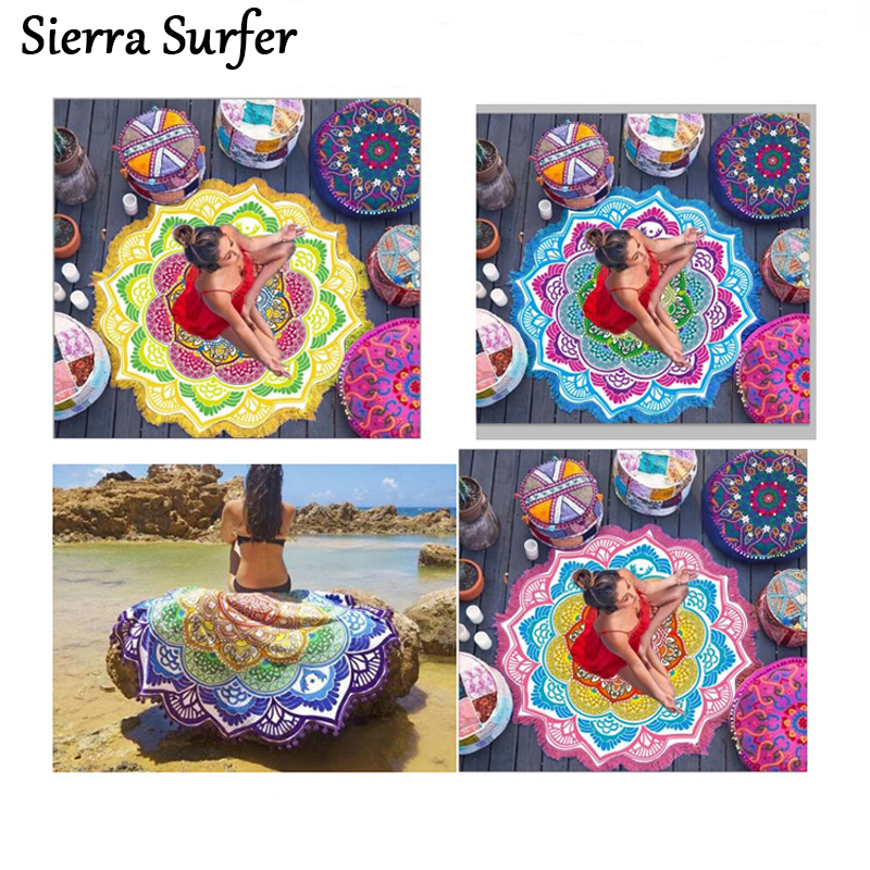 Large Size Women Beach Wear Outings Tunics Womens Bather Coverups For Bathing Suit Covers Polygon Purple Ball Printing 7 Colour