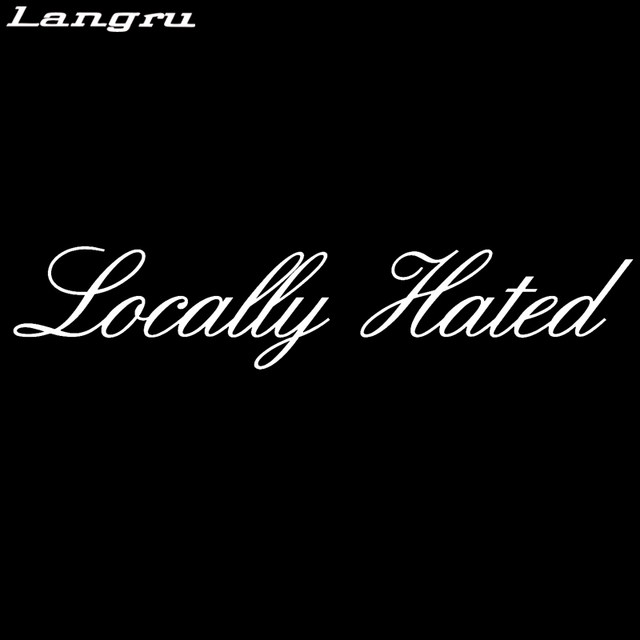 Online shop langru hot sale locally hated sticker decal stance car styling drift illest hoon car accessories decor jdm aliexpress mobile