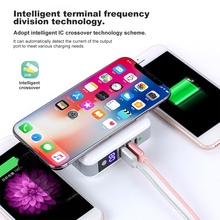 6700mAh Power Bank Wireless Quick Charge Protable Travel  Phone Charger For iPhone Samsung Huawei OPPO External Battery Dual USB