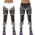 Harajuku women  leggings 3D gothic batman female  fitness skinny pants women punk rock legings joggers Plus Size