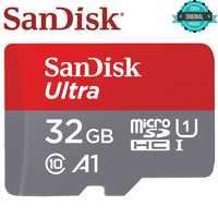 SanDisk tarjeta Micro SD tarjeta de memoria de 16 GB 32 GB 64 GB MicroSD de 128 GB máx. 80 M/s Uitra C10 TF TARJETA de C4 8G cartao de memoria